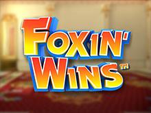 Играйте онлайн в азартный слот Foxin Wins на сайте