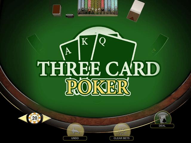 Аппарат Three Card Poker by Habanero с качественной графикой